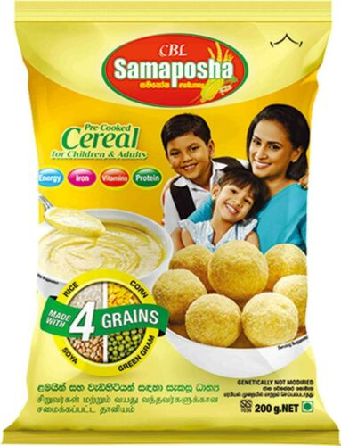 """""""Samaposha"""" cereal based nutritious supplement (200g) free shipping"""