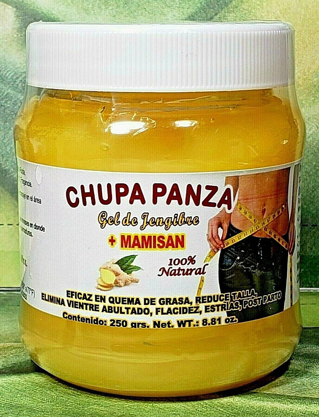 Gel CHUPA PANZA + Ginger + MAMISAN + FAT BURNER + Jengibre +
