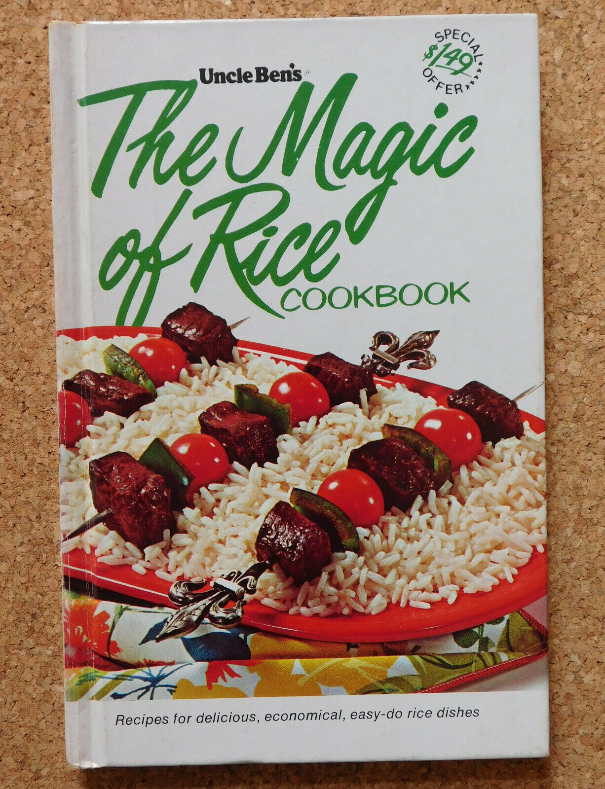 The Magic of Rice Uncle Ben's Cook Book American recipes vintage 1960s easy meal