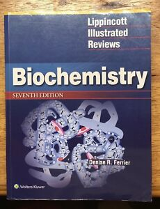 NEW Lippincott Biochemistry Textbook 7th Ed.