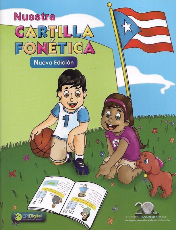 Nuestra Cartilla Fonética (Nueva Edición) (Puerto Rico)