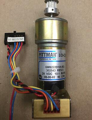 "415A 24V DC Globe Motors 1000 RPM Gearhead Electric Motor w// 3//16/"" D Shaft"