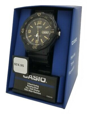 Casio MRW200H-1B3V Dive Style Wrist Watch for Men / NEW