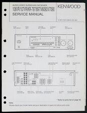 Kenwood KR-797/897/V6090/V7090 Original Av Receiver