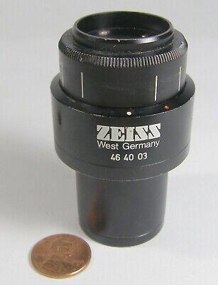 Zeiss Microscope Eyepiece W.g. 46 40 03 W10x25 Spot On Lens  1 Count