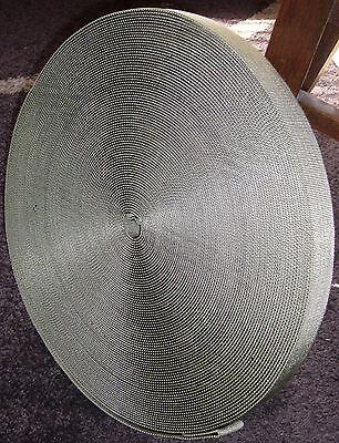 Gewebegurtbänder Band Gurtband Gurt Weidenzaun oliv ca. 3,2-3,3cm breit 45-50m