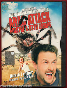 Arac-Attack-Mostri-a-otto-zampe-2002-DVD-edizione-snapper