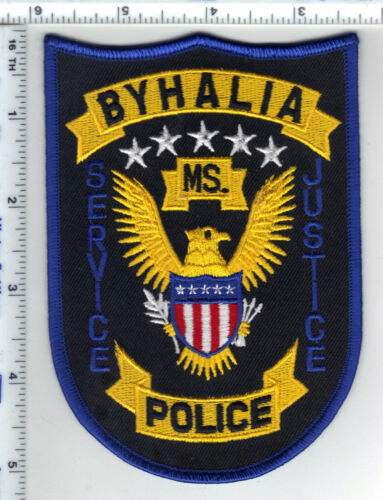 Byhalia Police (Mississippi)  Shoulder Patch  from the 1980