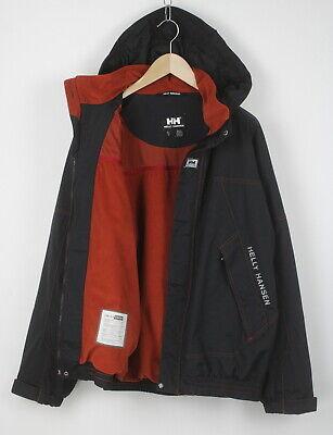 HELLY HANSEN HELLY TECH Men's XL Waterproof Fleece Lined Hooded Jacket 23948-JS