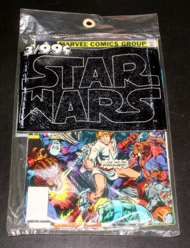 1977 MARVEL COMIC 3-PACK SET, STAR WARS #1, 2, 3, SEALED IN ORIGINAL BAG, MIP!