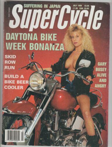 SuperCycle (Daytona) Motorcycle Magazine~ 1989