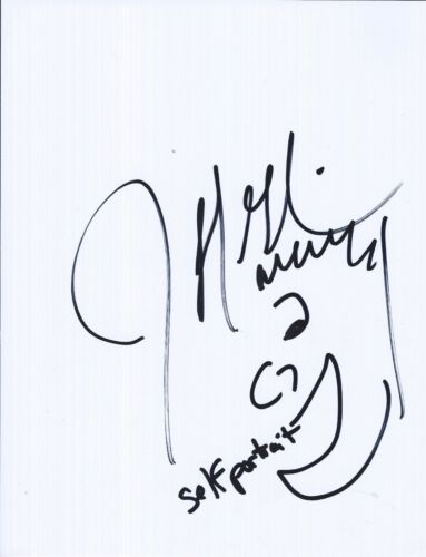 Jeff Garlin Signed Autograph Sketch Drawing The Goldbergs Curb Your Enthusiasm
