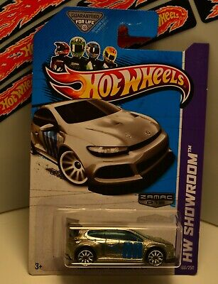 HOT WHEELS 2013 WALMART ONLY ZAMAC ~ HW SHOWROOM™ VOLKSWAGEN SCIROCCO GT 24