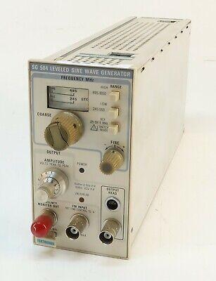 Tektronix Sg504 Input Normalizerprobe Calibrator