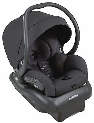 Maxi-Cosi Mico 30 Infant Baby Car Seat w/ Base Devoted Black 5-30 lbs NEW 2016