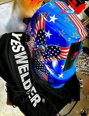 Large Viewing Solar True Color Welder Mask Tig Mig Auto Darkening Welding Helmet