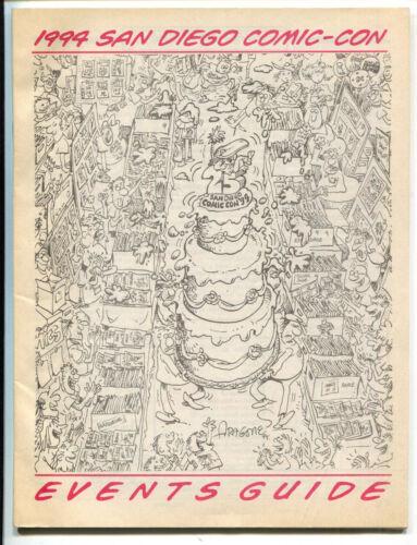 San Diego Comic Con Events Guide 1999 FN Sergio Aragones Cover