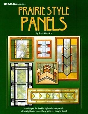Prairie Style Panels - Stained Glass Pattern Book - PRAIRIE STYLE PANELS