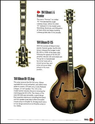 1941 Gibson L-5 Premier guitar history article + Oscar Moore Epiphone archtop
