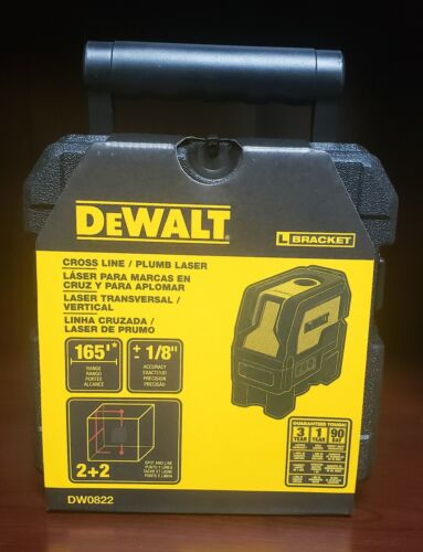 DEWALT DW0822 Self-Leveling Cross Line and Plumb Spot Laser