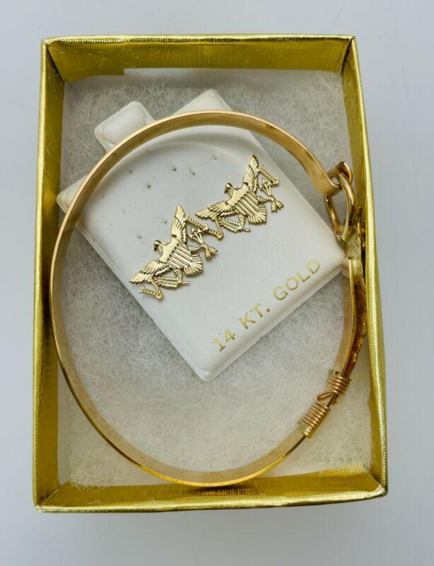 Johny Jeweler 14kt Gold Filled St Croix Bracelet and Earrings