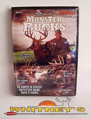 Realtree 2015 Monster Bucks Hunting DVD XXIII Volume 2 - 35 Hunts