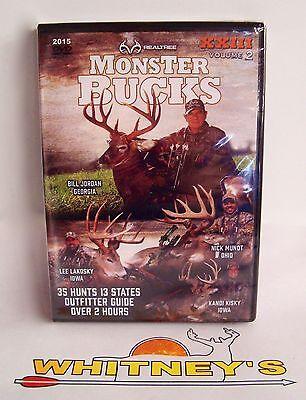 Realtree 2015 Monster Bucks Hunting DVD XXIII Volume 2 - 35 Hunts