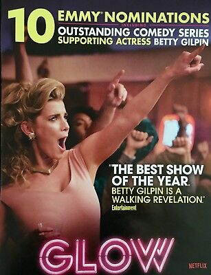 PEGGY GILPIN in GLOW Emmy Consideration Advertisement Netflix ad