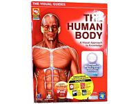 THE HUMAN BODY VISUAL GUIDES Educational Set CD-ROM PC Weekly Reader />NEW/<