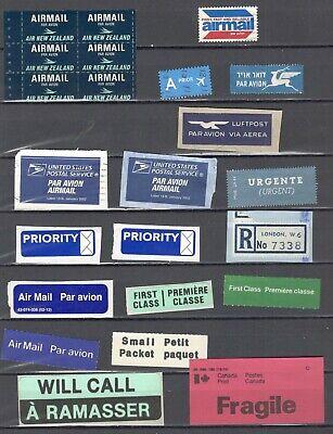 Airmail Label +++ Mint & Used........................................B1-JT16-026