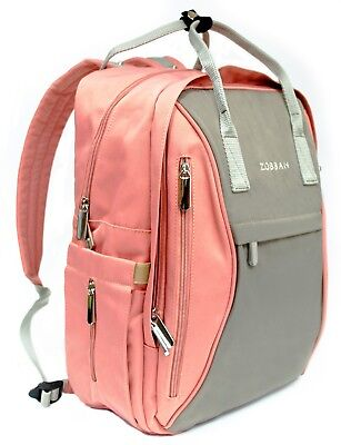 - Baby Diaper Backpack- Multifunction Waterproof Bag- Changing Pad Stroller Straps