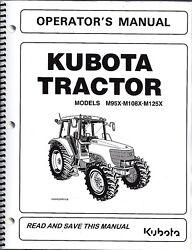 Kubota M108x Farm Tractor | Kubota Farm Tractors: Kubota Farm ... on