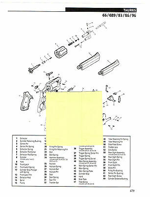 Advertisements - Revolver Exploded View Parts List - 4
