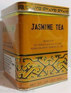 CHINA JASMINE  LOOSE LEAF TEA 1/2 LB BOX US SELLER
