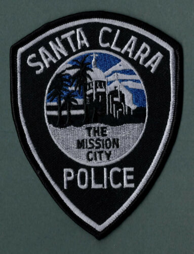 Santa Clara California City Police Patch