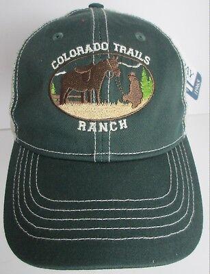 fead05e11a04d Colorado Trails Ranch Hat Cap Trucker Snapback USA Embroidery Unisex New