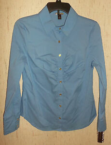Women'S Shirt Blouse In Cornflower 2