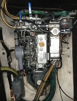 Yanmar 3GM30F motors (27HP) with saildrives (x2) Kippa-ring Redcliffe Area Preview