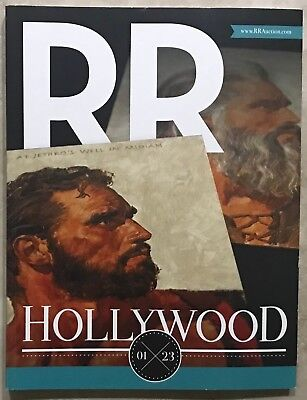 RR AUCTION CATALOG DISNEY HOLLYWOOD,ENTERTAINMENT,TELEVISION,STAR TREK INTEREST