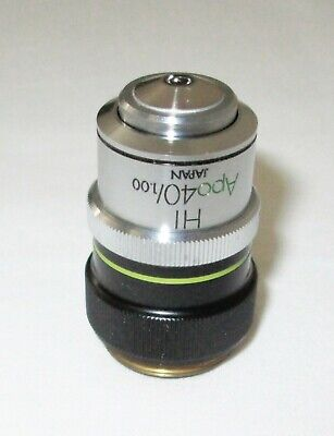 Olympus Hi Apo40 40x Oil Inverted Microscope Objective With Iris - Nice