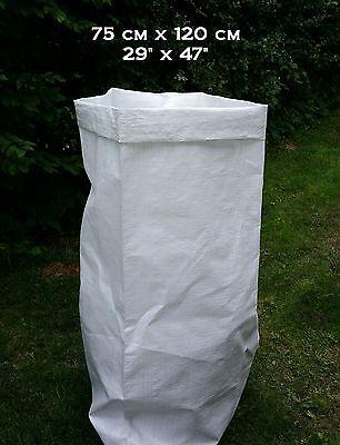 100 WOVEN POLYPROPYLENE BAGS SKIP GARDEN RUBBLE SACKS 29