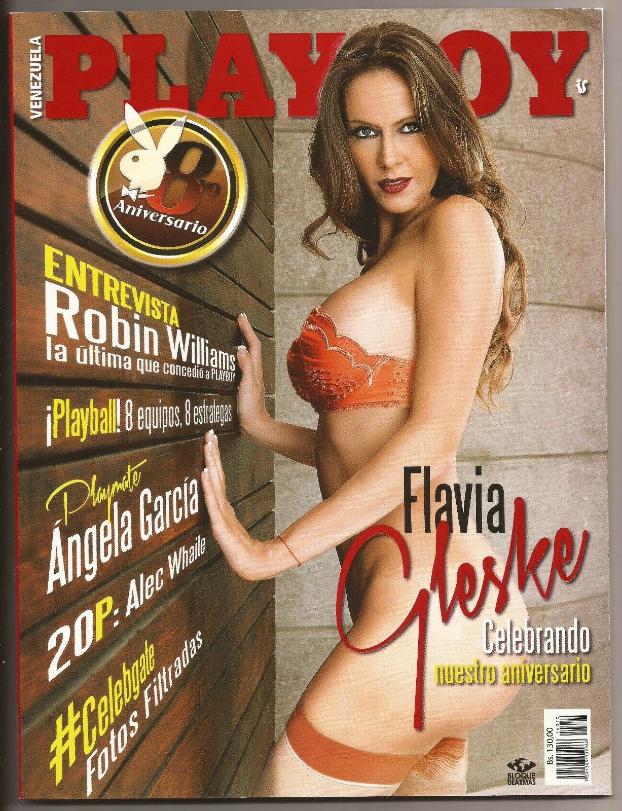 Flavia Playboy playboy venezuela october 2014 cover flavia