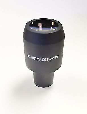 Reichert 15x Ultra W.f. Eyepiece For Stereozoom Microscope - 20mm Fov - New