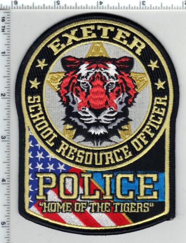 Exeter Police (Missouri) School Resource Officer Shoulder Patch