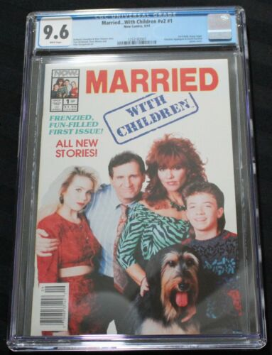 Married With Children #1 (1991) CGC 9.6 NM+... I Combine Shipping!