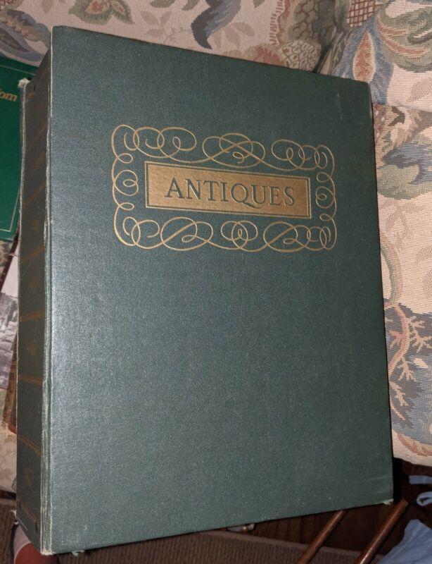 Binder Of 1965 ANTIQUES magazines 12