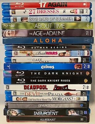 Blu Ray Movie Lot - You Choose 5 for $15 (Read Description for Blu Ray Titles)