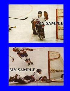 2-BILLY-SMITH-NY-ISLANDERS-BROOKLYN-GOALIE-MASK-KOHO-PADS-8-by-10-PHOTOS-2
