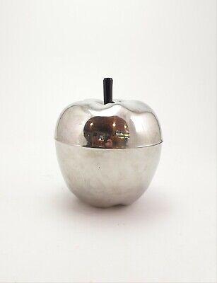 Vintage Decorative Ice Bucket Apple Cooler Midcentury
