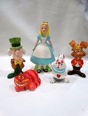 Vintage Disney Japan Ceramic Porcelain Alice in Wonderland